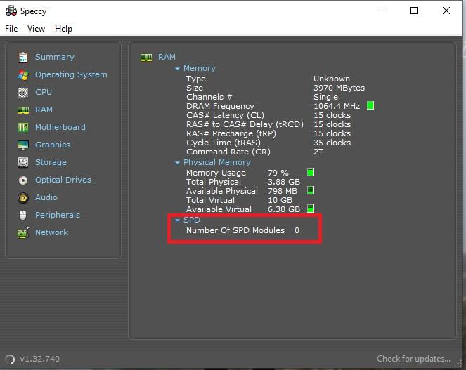 Tanya soal RAM: CPU-Z, AIDA64 Extreme, & Speecy (Unread), Task Manager (YES)