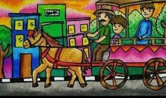 Transportasi Jadul Dalam Kenangan