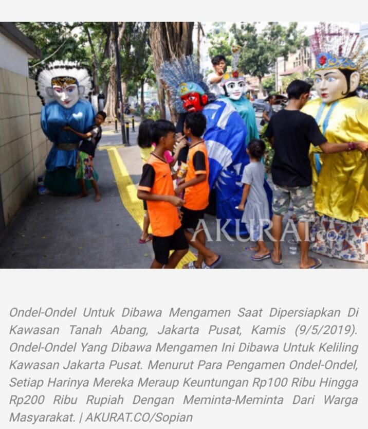 [COC_Regional_Serentak2020]Dan Jakarta Punya Nyorog Sebagai Pertanda Ramadan Datang
