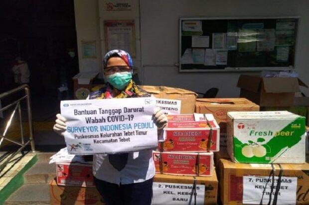 Bantu Tangani Covid-19, Surveyor Indonesia Berikan Sembako hingga Alat Medis
