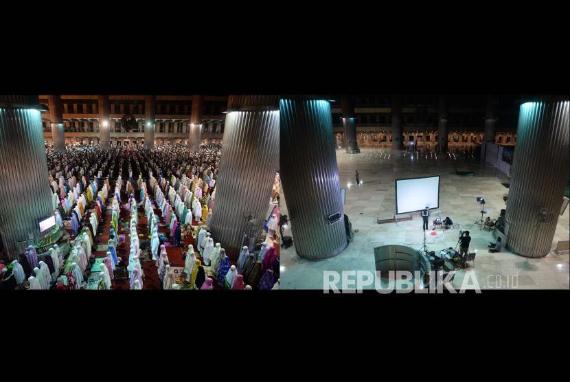 Menengok Masjid Istiqlal di Bulan Ramadhan, Sebelum dan Sesudah Corona