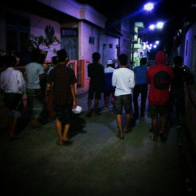 Kerennya Main Musik Seadanya, dalam Kegiatan Bangunin Sahur di Kotaku Beran Ngawi!