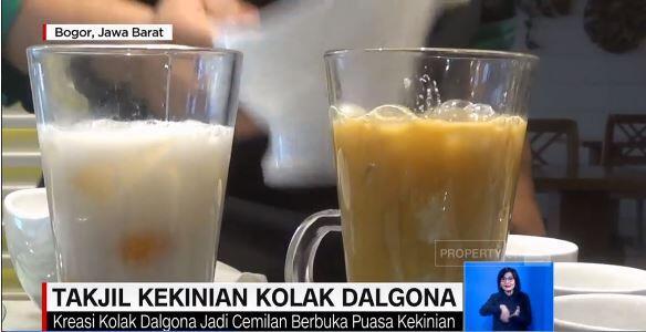 KOLAK DALGONA: Takjil Kekinian di Kota Bogor