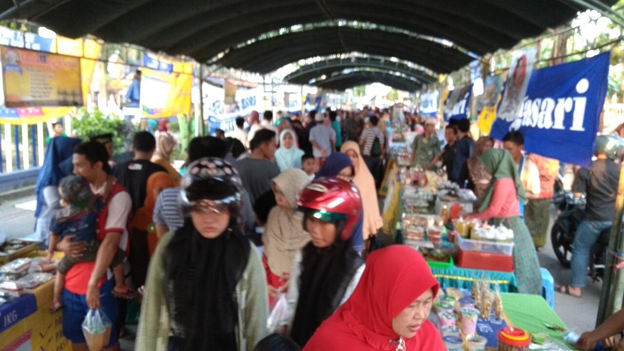 Akibat Corona, Bazar Takjil Tidak Seperti Dulu