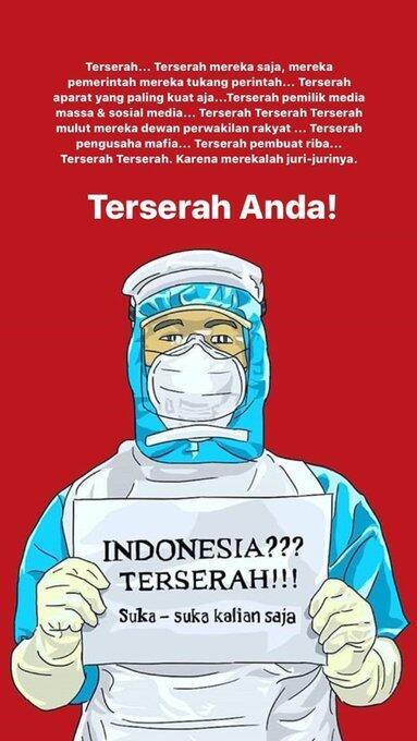 TENAGA MEDIS, SUDAH SAATNYA KALIAN BERISTIRAHAT SAJA!!!
