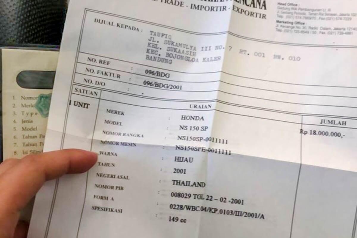 Rekor Terpecahkan, Motor Bekas 150cc Ini Dijual Dengan Harga 250 Juta
