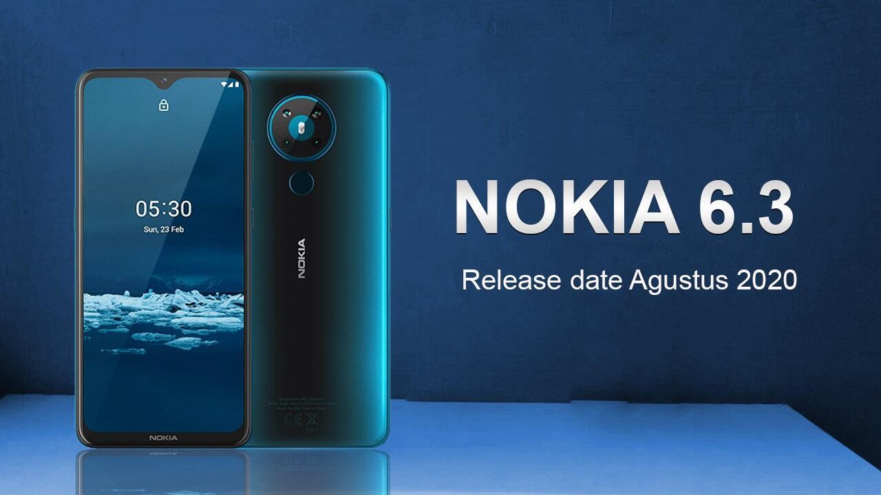 Bocoran ! Nokia 6.3 harga dan spesifikasi