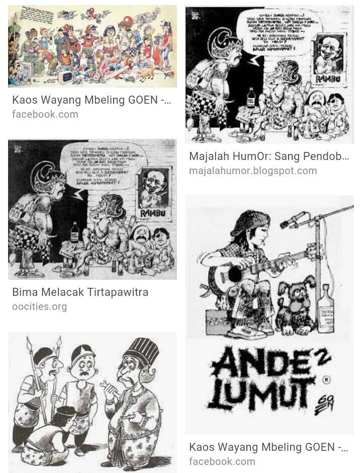 Komik Strip Jadul Kesukaanku