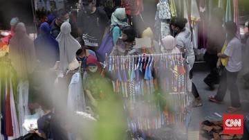 Pasien Positif Corona Berkeliaran di Pasar Kaget Bandung