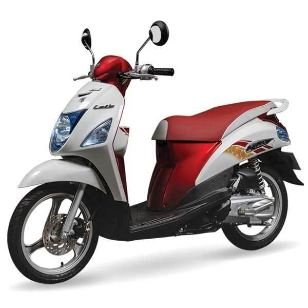 Masih Ingat Suzuki Lets Musuhnya Honda Scoopy? Beginilah Bentuk Model Terbarunya