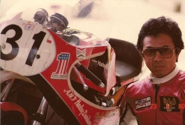 Pembalap Indonesia yang Tercatat di Museum Ducati, Italia
