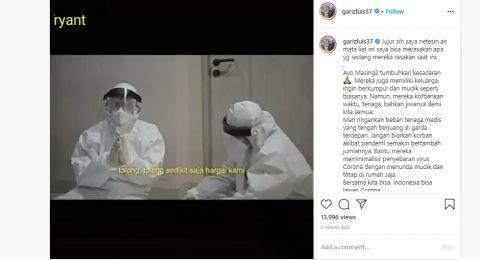 Curhatan Tenaga Medis Bikin Bripda Gariz Menangis: Tolong Hargai Kami