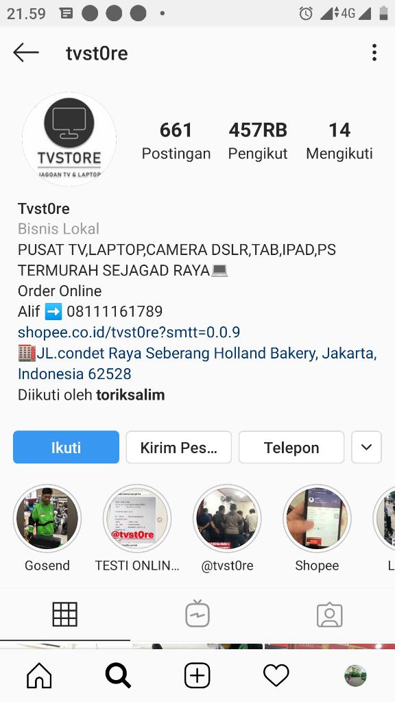 ( PENIPUAN @TVSTORE) pengalaman Tertipu Belanja Online Di Instagram @tvstore