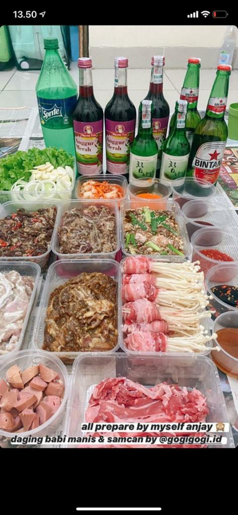 PELUANG USAHA GOGI GOGI FROZEN FOOD KOREAN BBQ