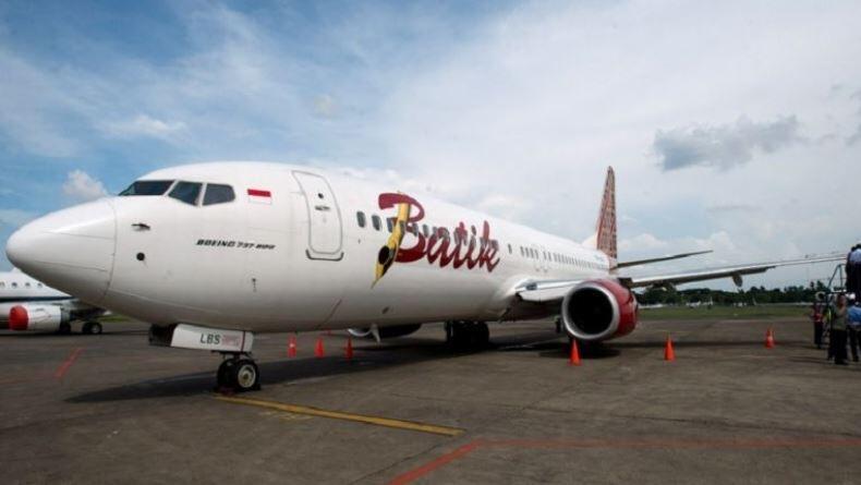 Langgar Physical Distancing, Izin Rute Jakarta-Denpasar Batik Air Dibekukan