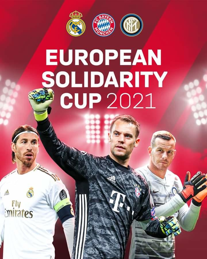 """European Solidarity Cup - Football for Heroes"" 2021"