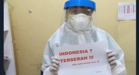 Tagar Indonesia Terserah Tunjukkan Kondisi Sudah Sangat Rumit