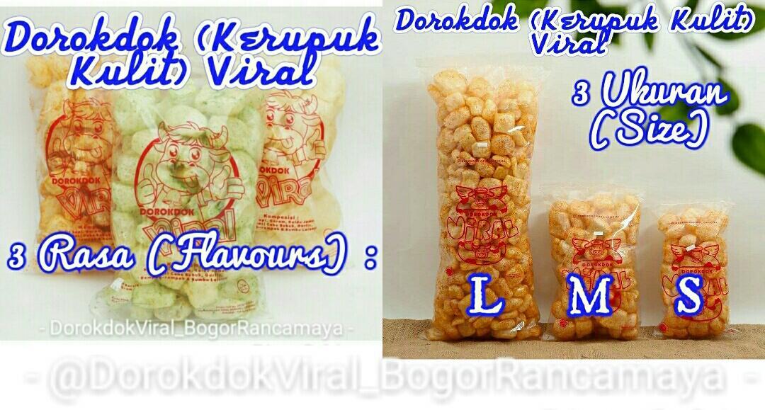 Dorokdok/Kerupuk Kulit (Skin Crackers) Viral by @DBYBags