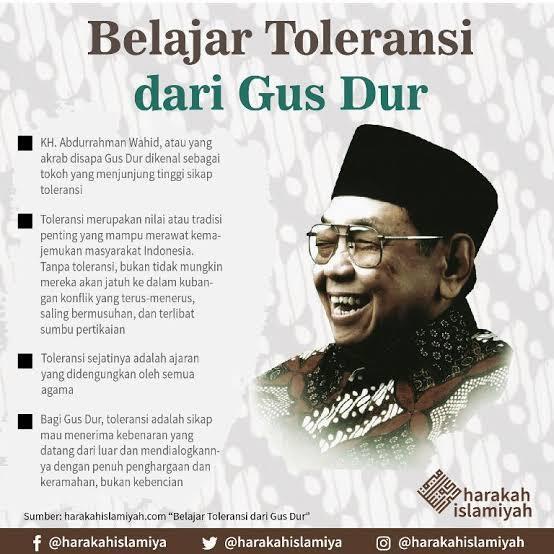 Jalan Pikiran Gus Dur Tentang PKI Dan Keberagaman Agama