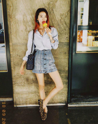 10 Trik OOTD Casual Ala Model Korea Irene Kim, Berani Coba?