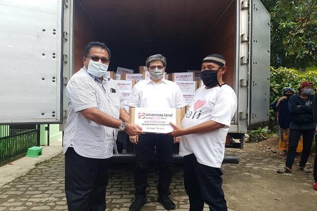 Jelang Idul Fitri, Sinar Mas Land Berikan Bingkisan ke Warga Terdampak Covid-19