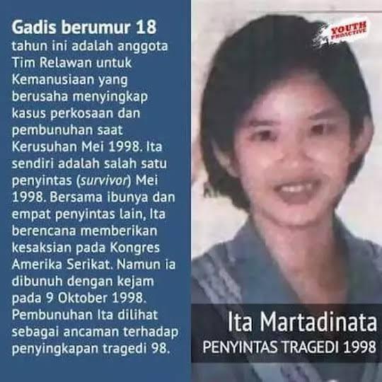 Korban Perkosaan Mei 1998: Diintimidasi, Diminumi Baygon, Dibunuh