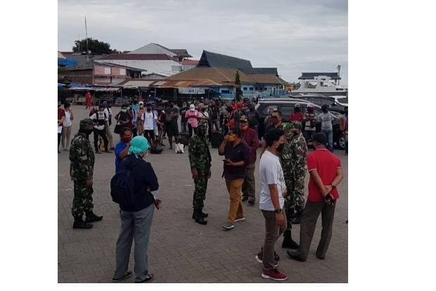 Daya Tampung Rumah Karantina Terbatas, Warga Lembata Tertahan di Flotim