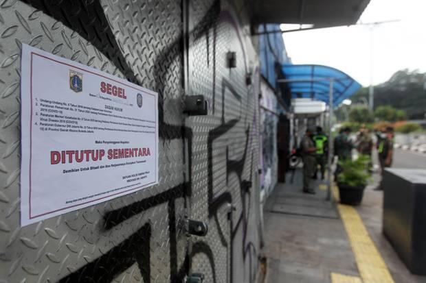 1.271 Perusahaan di Jakarta Lakukan Pelanggaran PSBB