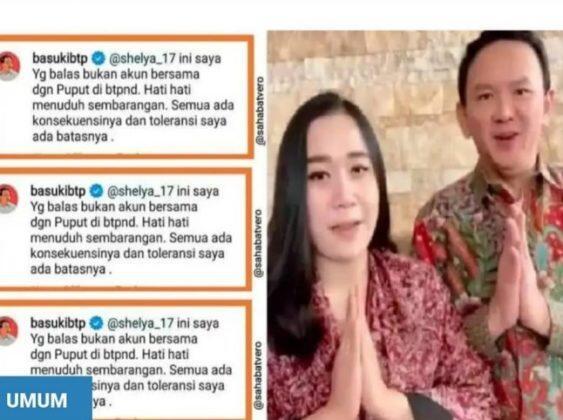 Waduh! Ahok Emosi ke Netizen Gegara Puput Nastiti Dibandingkan Sama Veronica Tan