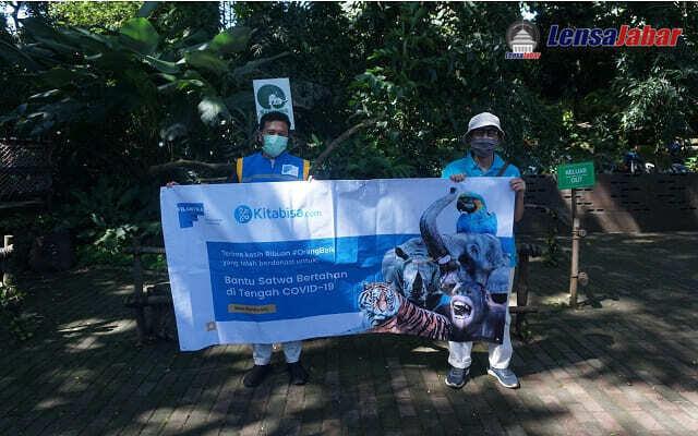 Tanggap Covid-19, Filantra Bantu Satwa Kebun Binatang Di Indonesia