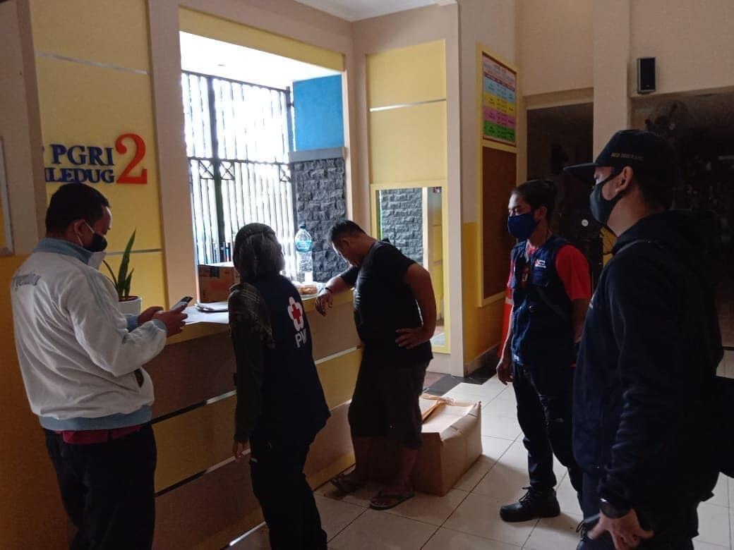 Persiapan New Normal, PMI Kota Tangerang Cegah Penyebaran Covid-19 di Fasilitas Umum