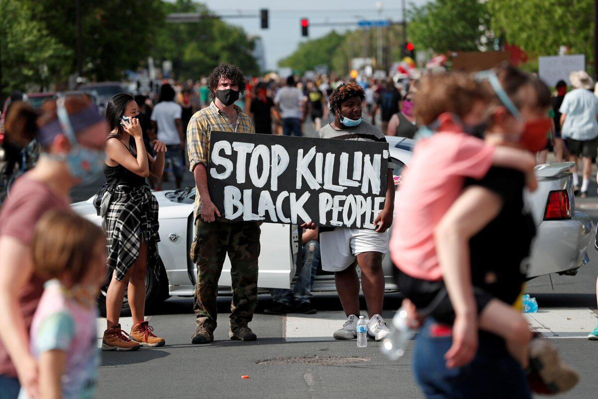 Lagi-Lagi Kematian Kulit Hitam Oleh Keganasan Polisi di AS