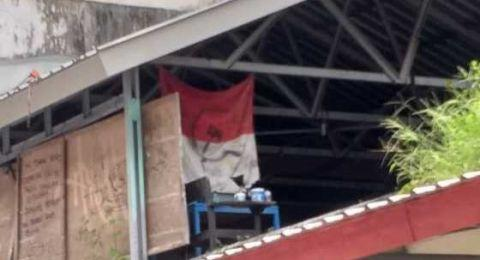 Geger Bendera Merah Putih Logo Palu Arit di Kampus, Polisi Cari Pelaku