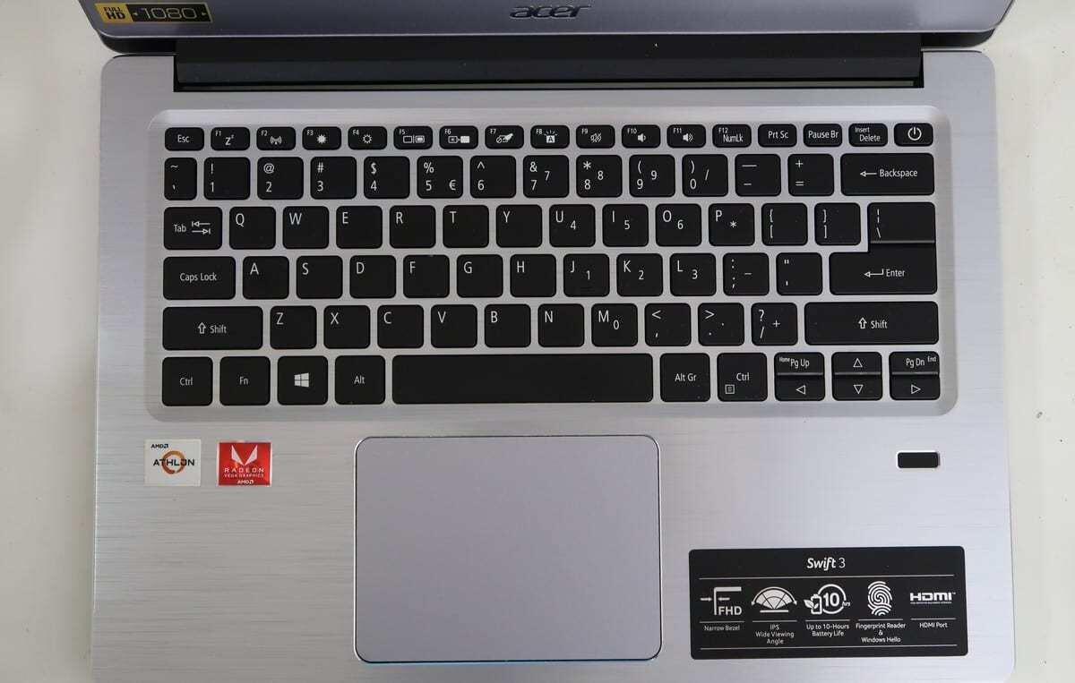 Review Acer Swift 3 SF314-41 Athlon 300U