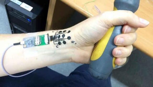 Pengembangan Tato Elektroda Untuk Membaca Otak, Awal Kebangkitan Manusia Android ?