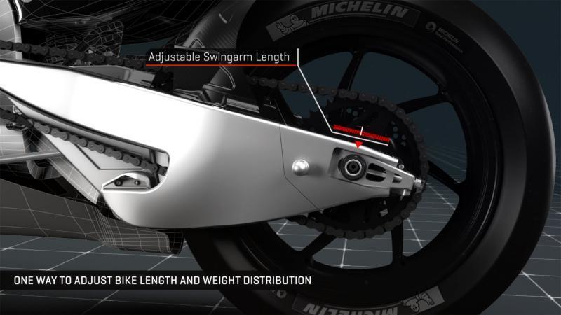 Ada Yang Penasaran Harga Swingarm Carbon Motor Balap Marc Marquez?