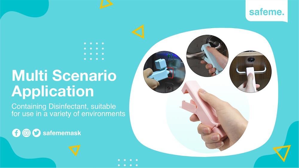 Hand Sanitizer Gel Disinfektan Disinfectant Spray Alat Pelindung Diri Anti Sentuh
