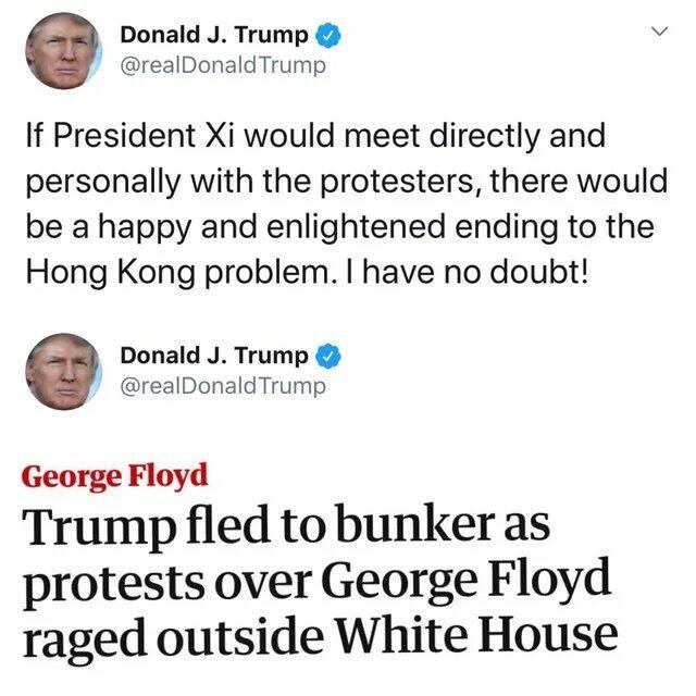 Ini Kisah Bungker Gedung Putih Tempat Trump 'Ngumpet', Simak!
