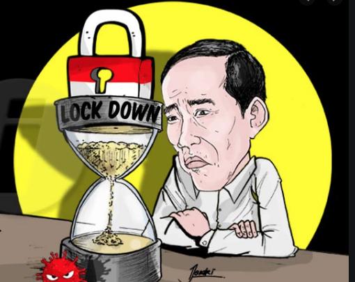 Luhut Bocorkan Ucapan Jokowi Saat Putuskan RI Tak Lockdown