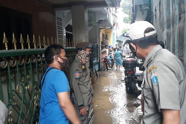 1.089 KK Terdampak Banjir Rob di Kelurahan Ancol Jakarta Utara
