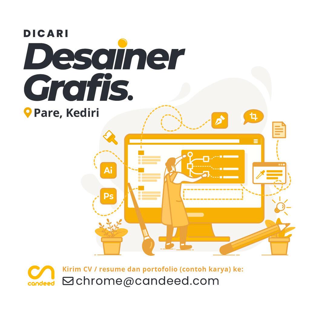 [Pare, Kediri] Lowongan Kerja Desainer Grafis