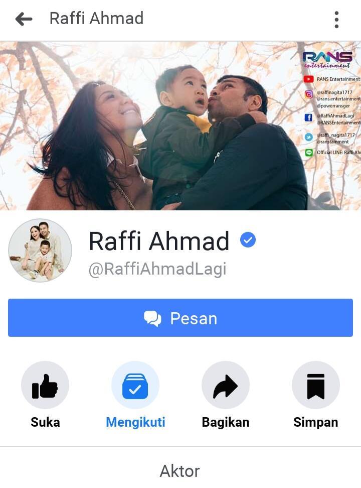 Kontent Thread Kaskus Tentang Raffi Ahmad, Di Facebook Langsung Di Coment A Raffi