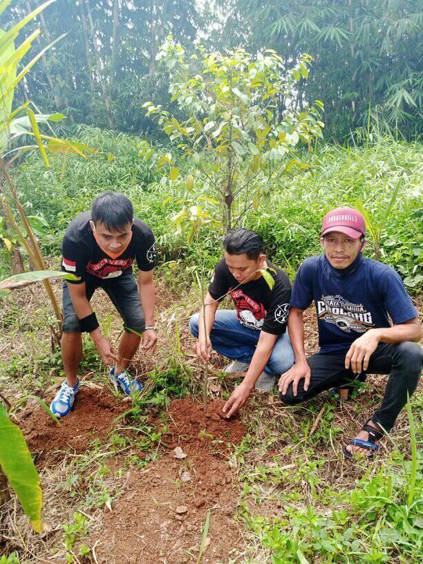 Hari Lingkungan Hidup 2020, Komunitas Jecovers Sukabumi Ajak Anggota Hijaukan Bumi