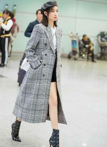 10 OOTD Chic Ala Victoria Song, Mantan Leader F(X) Yang Kian Ciamik
