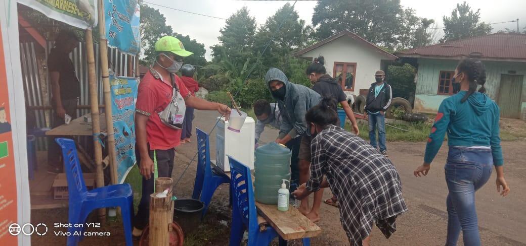 Tim Posko Covid-19 Desa Nao Tetap Perketat Pintu Masuk Desa