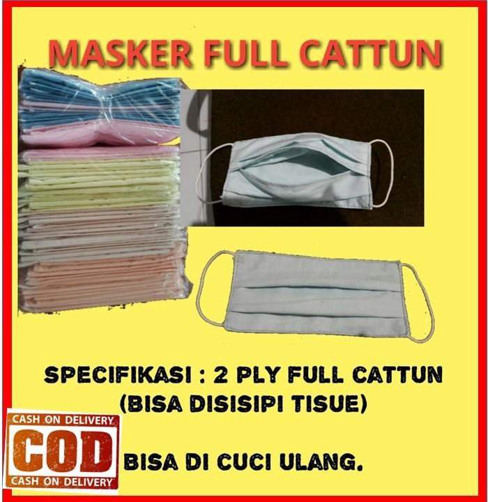 Kami Distributor masker kain katun tebal dan murah