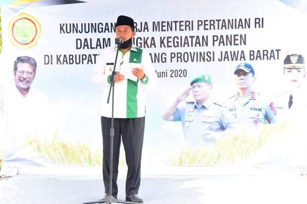 Uu Ruzhanul Dampingi Menteri Pertanian dalam Kunker di Jabar