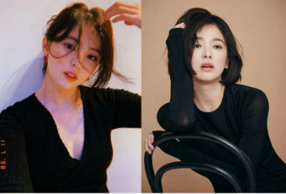 10 Bukti Kemiripan Han So Hee Dengan Song Hye Kyo, Bak Kakak Adik