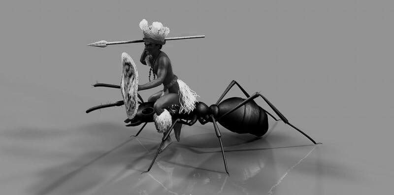 """Manusia """"Penarik Delman"""" Semut Dari Afrika"""