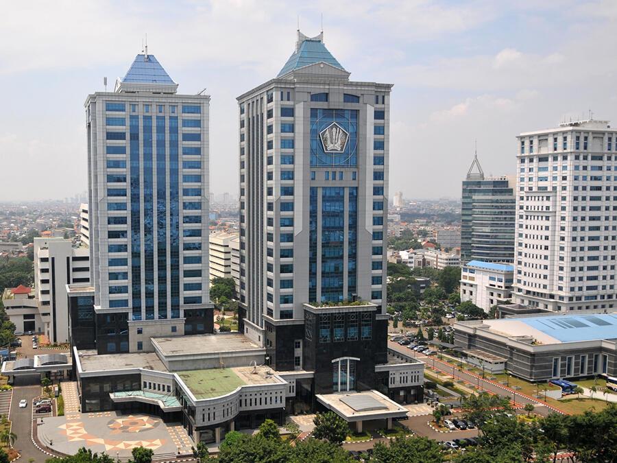 Masuki Masa Transisi PSBB Jakarta, Pegawai kemenkeu Mulai Kerja Dari kantor
